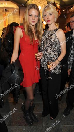 Vip Opening of Ugg Australia in Long Acre Covent Garden London Gabriella Calthorpe & Charlotte Dutton
