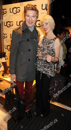 Vip Opening of Ugg Australia in Long Acre Covent Garden London Henry Conway & Charlotte Dutton