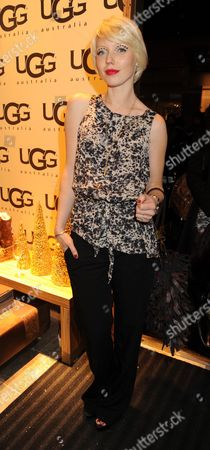 Vip Opening of Ugg Australia in Long Acre Covent Garden London Charlotte Dutton