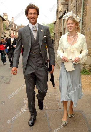 The Wedding of Laura Parker Bowles and Harry Lopes at St Cyriac's Church Lacock Wiltshire Van Cutsam