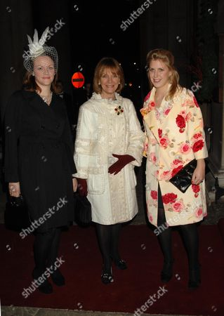 Editorial photo of Wedding of Lady Frances Armstrong-jones and Rodolphe Von Mannsthal at St Georges Church, Hanover Square - 02 Dec 2006
