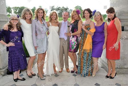 Editorial image of Wedding of Nina Carter & Douglas Harrison - 12 Jun 2010