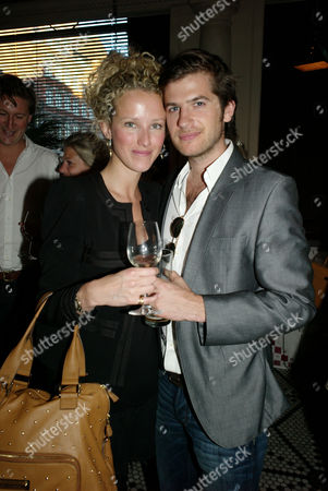 William & Harry Book Launch at Marco Pierre White's Wheeler's of St James Mayfair London Jack Freud and Kate Melhuish