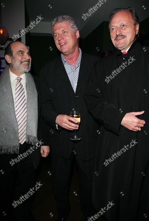 World Premiere Afterparty For 'The Bank Job' at Glass Piccadilly David Suchet James Faulkner and Peter Bowles