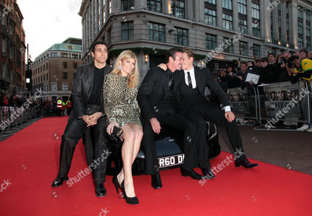 World Premiere For 'The Heavy' at the Odeon Westend Adrian Paul Meredith Ostrom Gary Stretch and Lee Ryan