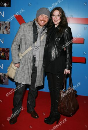 World Premiere For 'Yesman' at the Vue Leicester Square Leigh Francis (avid Merrion) with His Wife Jill Carter
