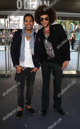 World Premiere of 'Inception' at the Odeon Leicester Square Danyl Johnson and Jamie Archer