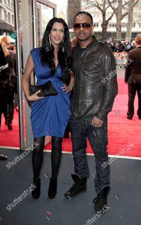 Stock Image of World Premiere of 'It's A Wonderful Afterlife' at the Odeon Westend Tasha and Mumzy Stranger
