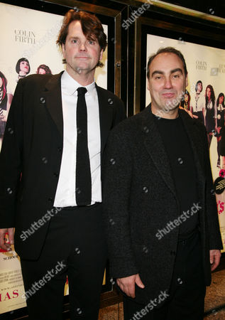 World Premiere of 'St Trinian's' at the Empire Leicester Square Barnaby Thompson and Oliver Parker