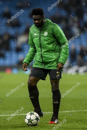 Kolo Toure during the warm up