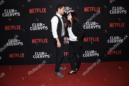 Luis Gerardo Mendez and Mariana Trevino