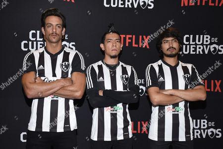 Joaquin Ferreira, Antonio de la Vega, Said Sandoval and Juan Pablo de Santiago
