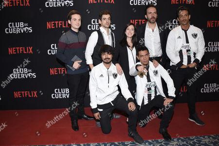 Jesus Zavala, Luis Gerardo Mendez, Mariana Trevino, Antonio de la Vega, Joaquin Ferreira, Said Sandoval and Juan Pablo de Santiago