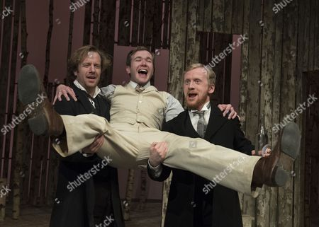 Geoffrey Streatfeild as Platonov, Joe Bannister as Sergey, Gunnar Cauthery as Dr Triletzky