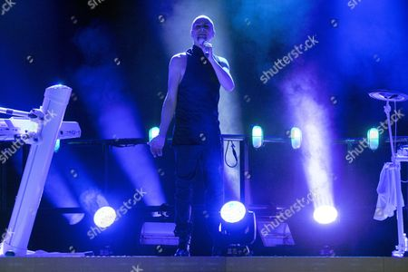 Stock Picture of The Human League - Phil Oakey