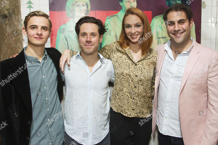 Otto Farrant (Kammerling), Daniel Abelson (Lawrence Vail), Amy Griffiths (Florabel Leigh) and Adrian der Gregorian (Sullivan)