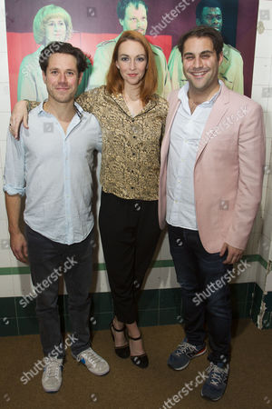Daniel Abelson (Lawrence Vail), Amy Griffiths (Florabel Leigh) and Adrian der Gregorian (Sullivan)