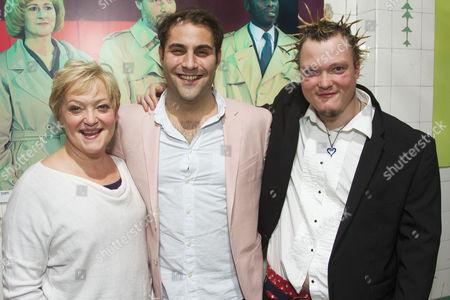 Maria Friedman, Adrian der Gregorian (Sullivan) and Toby Sams