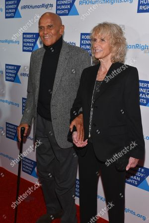 Stock Image of Harry Belafonte, Pamela Frank