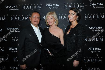 Charlotte Lena-Souki, Edouard Nahum and Elisa Servier