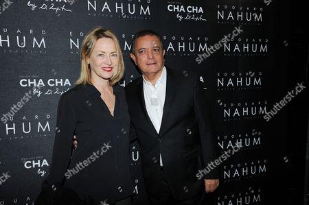 Gabrielle Lazure and Edouard Nahum