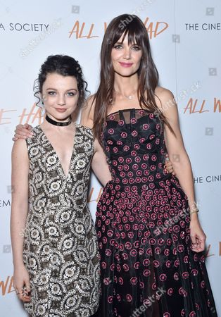 Stefania Owen and Katie Holmes