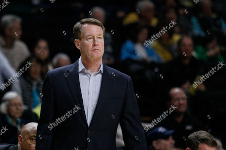 head coach Mark Price of the Charlotte 49ers in the NCAA Basketball matchup between the Charlotte 49er's and the Wake Forest Demon Deacons at LJVM Coliseum in Winston-Salem, NC