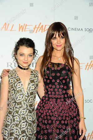 Stefania Owen, Katie Holmes