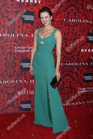 Editorial image of Lincoln Center's Fall Gala Honors Carolina Herrera, New York, USA - 06 Dec 2016