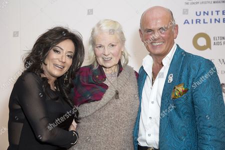 Nancy Dell'Olio, Vivienne Westwood and Winner of Winq The Business Award Roja Dove