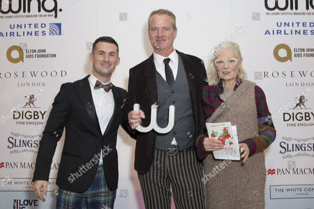 Editorial picture of Winq Men of the Year Lunch, Rosewood Hotel, London, UK - 07 Dec 2016