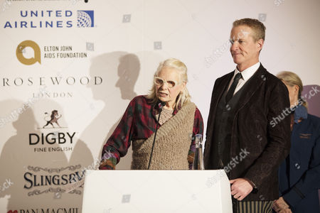 Winner of the Winq Activism Award Dan Mathews, Vivienne Westwood