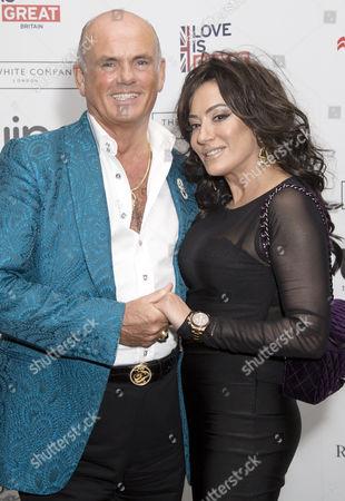 Roja Dove and Nancy Dell'Olio