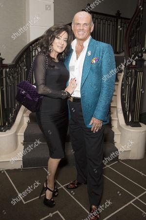 Nancy Dell'Olio and Roja Dove