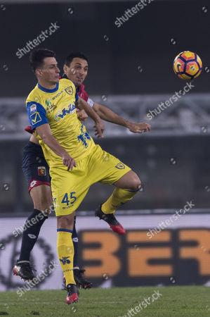 Nicolas Burdisso (Genoa), Roberto Inglese (Chievo)