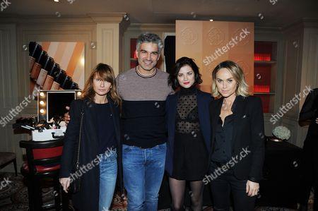 Axelle Lafont, Francois Vincentelli and Alice Dufour, Cecile de Menibus