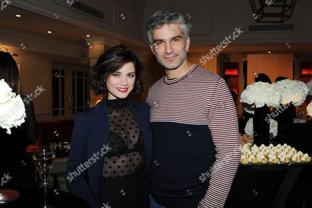 Stock Picture of Francois Vincentelli and Alice Dufour