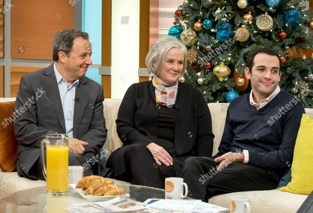 Stock Photo of Owen Suskind with parents Ron and Cornelia