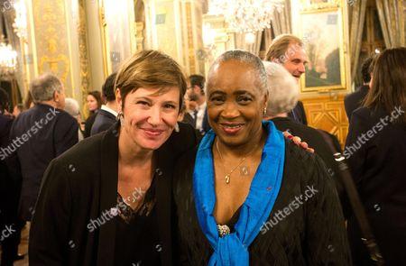 Maitena Biraben and Barbara Hendricks ;