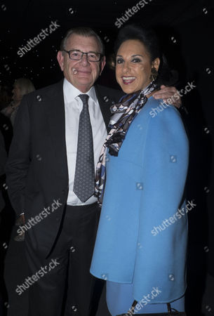The London Evening Standard's '1000: London's Most Influential People' at the Francis Crick Institute Euston Road London Gerald Ronson with His Wife Dame Gail Ronson