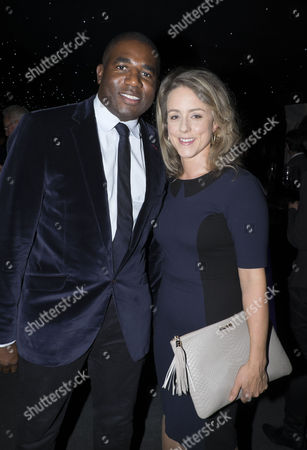 The London Evening Standard's '1000: London's Most Influential People' at the Francis Crick Institute Euston Road London Lord Paul Boateng with His Wife