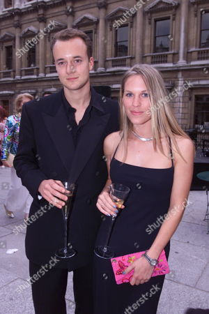 'Tango - A Hot Night at the Royal Academy' Party at the Royal Academy the Marquess of Bristol with Girlfriend Amy Lemons (they Have Been Together For 7 Months)