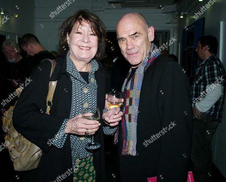 A Round-heeled Woman: Press Night at the Riverside Studios Hammersmith London Roberta Taylor & Peter Guinness