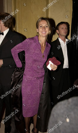 After Party For the Royal European Premiere of 'Bright Young Things' at Claridges London Daisy Waugh (granddaughter of Evelyn Waugh Who Wrote the Original Book)