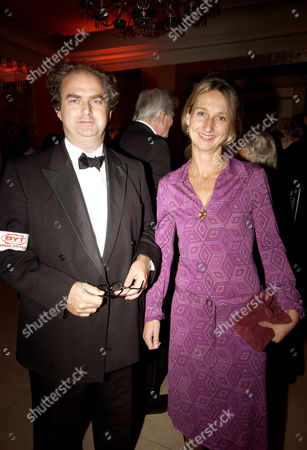 After Party For the Royal European Premiere of 'Bright Young Things' at Claridges London Daisy Waugh (granddaughter of Evelyn Waugh Who Wrote the Original Book) and Her Brother Alexander