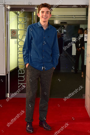 London, England 30th August 2016: Bill Milner at the Anthropoid Premiere Held at the Bfi Southbank Cinema On the South Bank in London On the 30th August 2016.