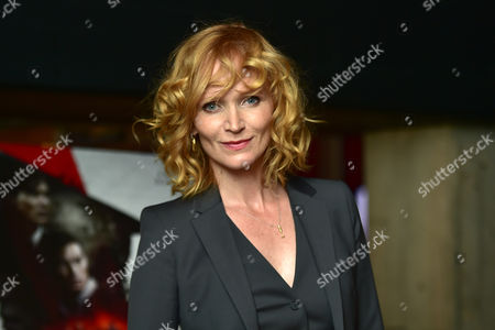 London, England 30th August 2016: Anna Geislerova at the Anthropoid Premiere Held at the Bfi Southbank Cinema On the South Bank in London On the 30th August 2016.