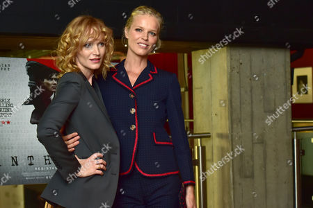 London, England 30th August 2016: Anna Geislerova and Eva Herzigov? at the Anthropoid Premiere Held at the Bfi Southbank Cinema On the South Bank in London On the 30th August 2016.