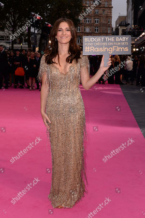 London,england 5th September 2016: Sarah Solemani at the Bridget Jone's Baby World Premiere Held at the Odeon Cinema in Leicester Square, London On the 5th September 2016.