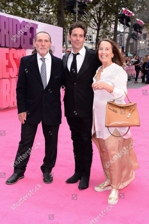 London,england 5th September 2016: James Callis with His Parents at the Bridget Jone's Baby World Premiere Held at the Odeon Cinema in Leicester Square, London On the 5th September 2016.
